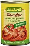 Rapunzel Tomaten geschält und geviertelt in der Dose, 6er Pack (6 x 400 g) - Bio