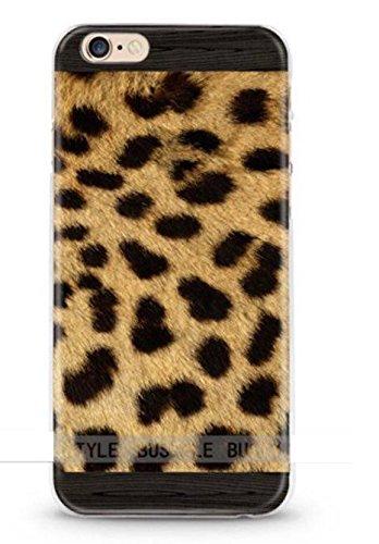 ITGM | iPhone 5, 5S Schutzhülle Bunt TPU Hülle Cover Handyhülle Bumper Handytasche Hülle mit Foto Silikon Case (Leopard) (Leopard Handy Cover Für Iphone 5)
