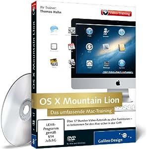 OS X Mountain Lion - Das umfassende Mac-Training