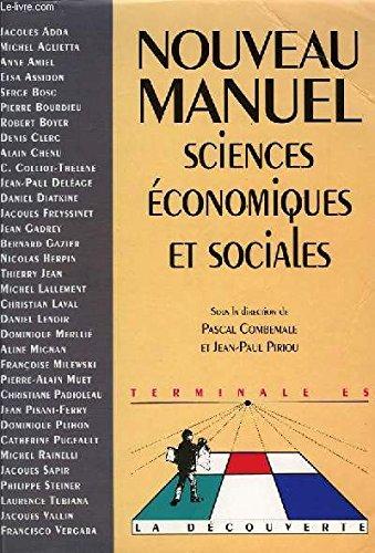 LES SCIENCES ECONOMIQUES ET SOCIALES. Emergence et enseignement d'une discipline