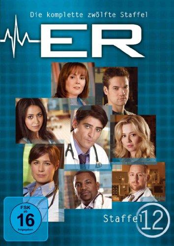 ER - Emergency Room, Staffel 12 [6 DVDs] (Clooney George Tv-serie)