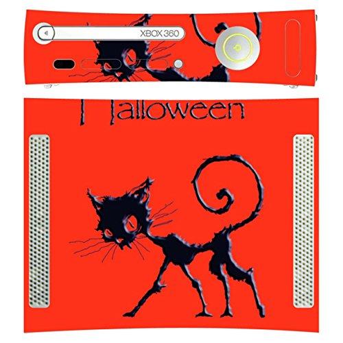 ür Microsoft Xbox 360 liegend - Motiv Happy Halloween ()