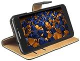 mumbi Tasche im Bookstyle für Alcatel One Touch Idol X+ Tasche