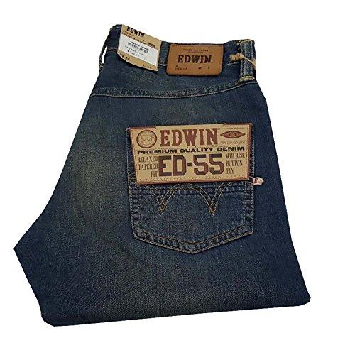 edwin ed 55 Edwin Herren Jeanshose blau Denim 26