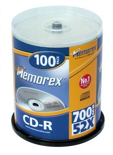memorex-m00286-cd-r-rohling-700-mb-80-minuten-in-cakebox-100-stuck-52x-speed