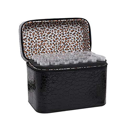 libelyef Diamond Painting Zubehör Mit 84 Fächer Diamant Stickerei Sortierbox 5D 3D Aufbewahrungsbox Schmuck Organizer Für Kleinteile Nägel Strass Perlen DIY Handwerk