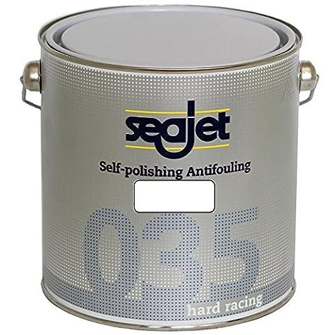 Seajet 035 Hard Racing Antifouling 2,5 Liter, Farbe:weiß
