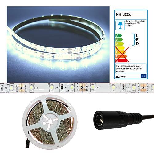 LED Streifen Strip WEISS wasserdicht ca. 4 m 240x LEDs PCBw