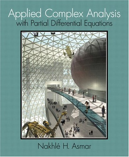 Applied Complex Analysis with Partial Differential Equations