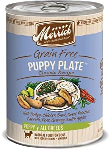 Merrick Puppy Plate Dog Food 13.2 oz (12 Count Case) by Merrick