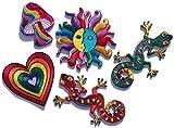 i-Patch - Patches - 0008 - Stickerei - Applikation - Aufnäher - Herz - Sonne - Gecko - Pilz - Mushroom - Aufnäher Patches - Aufbügler - Patches zum aufbügeln - Applikation zum aufbügeln - iron-on