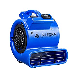 ALLEGRA Radiallüfter RL550 Turbolüfter 1 Gebläsestufe mit Betriebsstundenzähler Gebläse, Windmaschine