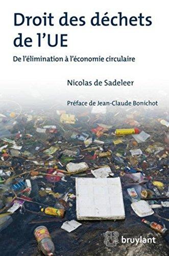 Droit des déchets de l'UE: De l'élimination à l'économie circulaire