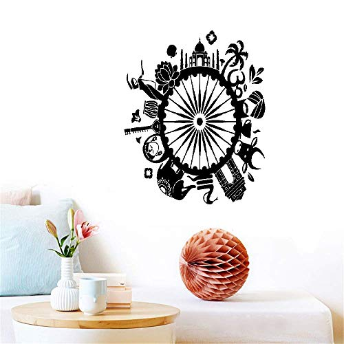 r Circle Yoga Serie Spezielle Designzimmer im indischen Stil Religiös ()
