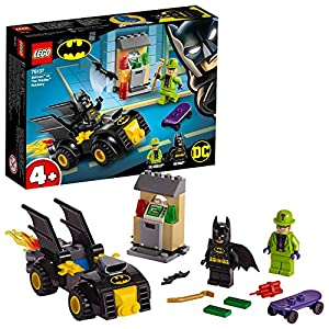 LEGO Super Heroes - Gioco per Bambini Batman e la Rapina dell'Enigmista, Multicolore, 6251534 5702016369755 LEGO