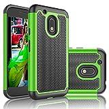 Coque Moto G4 Play/ Moto G Play, Eutekcoo [Tmajor Series] Silicone Hybrid Slim Dur Anti-Dérapant Coque/Housse/Etui pour Motorola G4 Play XT1607-Vert