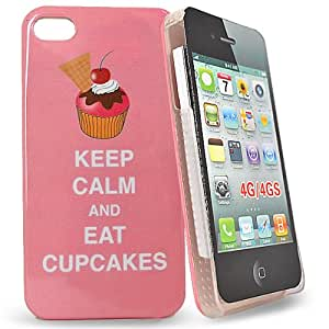 Accessory Master keep calm and eat cup cakes Hart Schutzhülle für Apple iPhone 4S