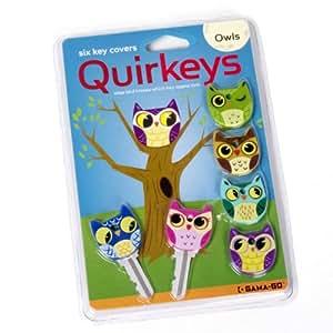 Quirkeys - Set of 6 New Owl Key Cap Covers