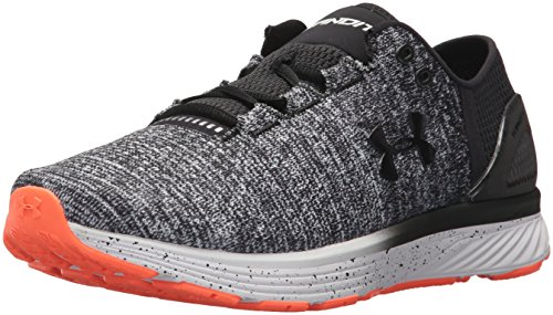 Under Armour Ua Charged Bandit 3, Scarpe Running Uomo, Multicolore (White/Black), 42.5 EU