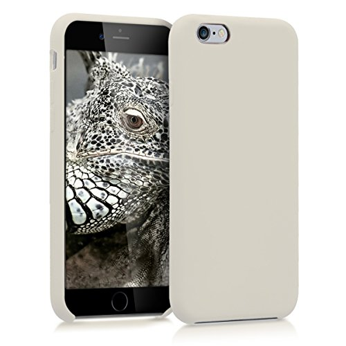 kwmobile Apple iPhone 6 / 6S Hülle - Handyhülle für Apple iPhone 6 / 6S - Handy Case in Creme