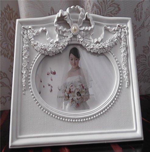 XBR El regalo de boda, regalo de boda _ perla de novia vintage marco de foto foto de socorro en...