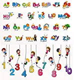 #10: Luke And Lilly Alphabet & Numbers for Kids Wall Sticker - Pack of 2