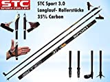 STC Sport Carbon Langlaufstock Skating Roller Stöcke Rollski Stöcke Skike