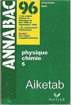 Lire un Physique Chimie S pdf epub