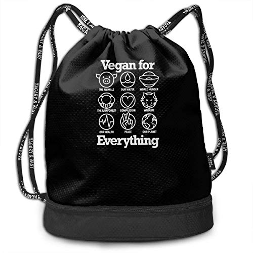 Vegan for Everything Kordelzug für Herren und