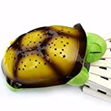 Lamara Stofftier Schildkröte mit 4farbigen LEDs und 4Songs Band Musical Sündige perfekt zum Schlafen auf die entspannende und liebevolle Licht und Nacht Musik für Deine Kinder von Open Buy
