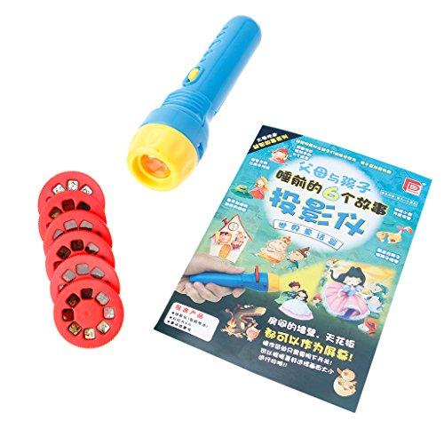 only y Nur y Märchen Schlaf Geschichte Projektor Taschenlampe Spielzeug Kinder Pädagogisches Spielzeug