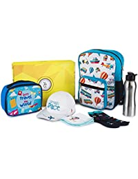 The Yellow Jersey Company (YJC) Up and Above Theme Blue School Bag +  Insulated 1d05d7a4720aa