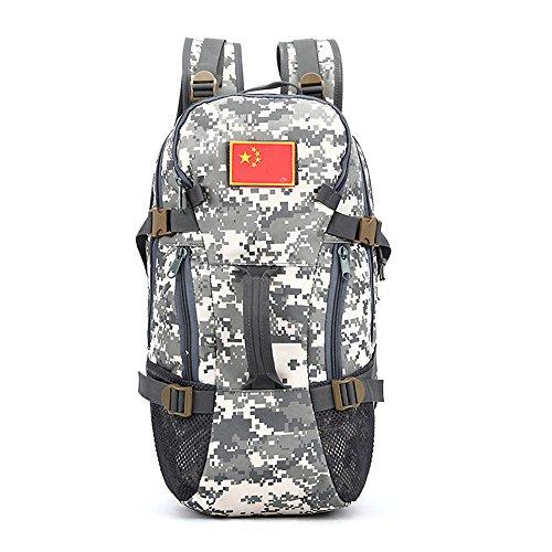 e-jiaen Rucksack 75L Hohe Kapazität Umhängetaschen/Handtasche für Speicher oder Veranstalter von Comping Wandern Reisen Mountaining Angeln Sport Zubehör C1