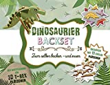 Dinosaurier Backset: Mit Ausstechern für 3D T-Rex Plätzchen