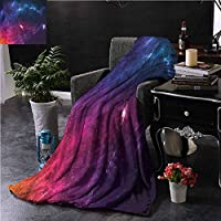 Soft Blankets Outer Space Motivation Calligraphy Bedroom Warm