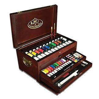 Royal & Langnickel RSET-ART8000 – Set de artista premier en arcón de pintura