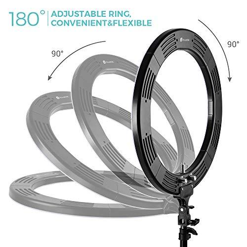 Zoom IMG-2 led ring light houzetek 18
