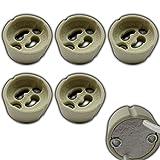 5x GU10 Sockel / Fassung aus Keramik für LED oder Halogen / Glühbirnen - PB-Versand®