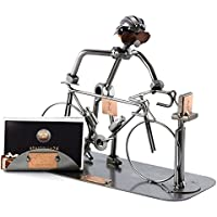 Deko aus Metall Hinz/&Kunst Rennrad ausgefallenes Design,witzige Geschenk-Idee