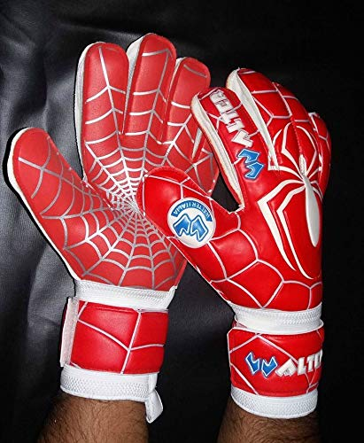 guanti da portiere walter walter Guanti da Portiere Professionali Modello Spyder (Rosso