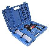 S-XC1VP Vakuumpumpe Universalpumpe mit Saug- und Druckfunktion inkl. Koffer mit vielen Adaptern und Schläuchen