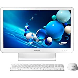 "Samsung Ativone5 Style DP500A2G-K01FR Ordinateur de bureau Tout-en-Un 21,5"" (54,61 cm) AMD A Series Quad Core A6 2,8 GHz 500 Go 4096 Mo AMD Graphic Windows 8 Blanc"
