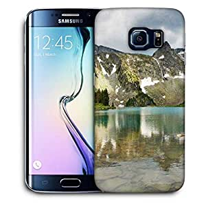 Snoogg Mirror Image Of Mountain Printed Protective Phone Back Case Cover For Samsung Galaxy S6 EDGE / S IIIIII