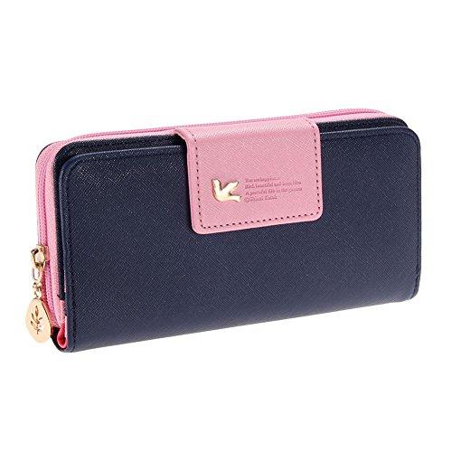 rrimin candy color long wallet for girl women faux leather purse Rrimin Candy Color Long Wallet for Girl Women Faux Leather Purse 51FQe9wuiAL