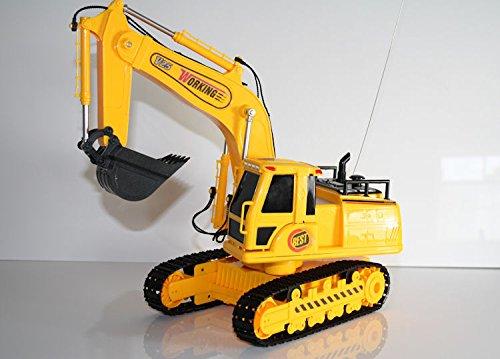 RC Auto kaufen Baufahrzeug Bild: Unbekannt RC Bagger DIGGER V25 ferngesteuerter Kettenbagger Schaufellader*