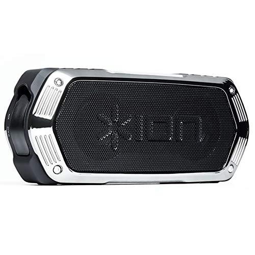 ION Audio AquaBoom Altoparlante Portatile Bluetooth, Resistente all'Acqua, Wireless, Impermeabile, Ricaricabile e con Vivavoce