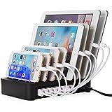 NexGadget Estación de Carga USB con 8 Puertos Desmontable Universal para Dispositivos de Carga USB