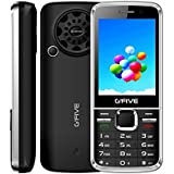 G'Five G9 Black 2.8 Inch, Dual SIM Mobile Phone With Selfie Camera, 3000 MAh Battery, Wireless FM, Vibration With 1 Year Warranty