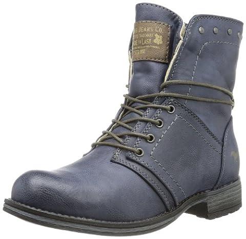 Mustang 5026601, Boots fille - Bleu (800 Dunkelblau), 36 EU