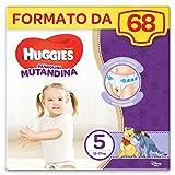 Huggies Pannolino Mutandina, Taglia 5 (12-17 Kg), 2 Pacchi da 34 Pezzi